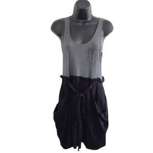THEORY 'Cyra Serenity Tank Casual Contrast Dress